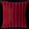 Kissen - Red Striped Red